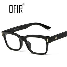 ce2d042a51af5 New Brand Eyeglasses Frame Men Women Fashion Glasses Computer Optical  Myopia Glasses Frame oculos de grau