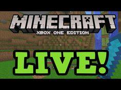 Minecraft Xbox One: LIVE Gameplay + Multiplayer - Best sound on Amazon: http://www.amazon.com/dp/B015MQEF2K -  http://gaming.tronnixx.com/uncategorized/minecraft-xbox-one-live-gameplay-multiplayer/