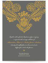 Spanish Lace Wedding Invitations, by annie clark