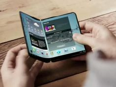 Flexible tablet by Samsung!