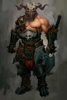 View an image titled 'Barbarian Heavy Armor Art' in our Diablo III art gallery featuring official character designs, concept art, and promo pictures. Character Concept, Character Art, Character Design, Fantasy Armor, Medieval Fantasy, High Fantasy, Dnd Characters, Fantasy Characters, Fantasy Heroes