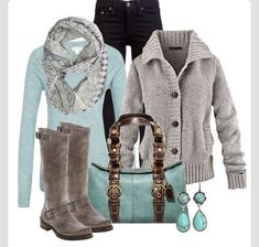 Love turquoise and tan!❤️