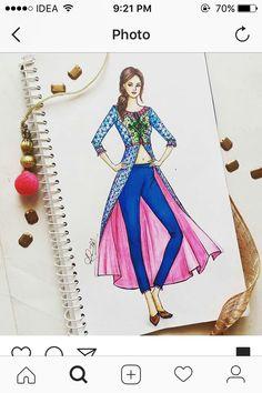 Dress Design Drawing, Dress Design Sketches, Fashion Design Sketchbook, Fashion Design Drawings, Fashion Sketches, Dress Drawing, Drawing Sketches, Dress Illustration, Fashion Illustration Dresses