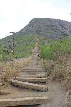 Round Trip Distance: 2100 stairs. Elevation: 1100 ft above sea level Location: Koko Head Park Rd off of Kalanianaole Hwy Hours of Operation: Any Time Fees: None (many places to park near the baseball diamonds) What to bring: cell phone, good walking shoes, hat, sunglasses, sunscreen, water, a snack, a camera. Bus Route: Bus #1L and Bus #23 (Still a long walk from bus stop!)