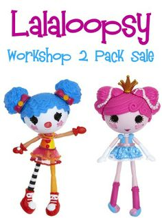 Lalaloopsy Workshop 2-Pack Sale: $16.99!
