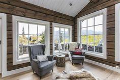 Kuvahaun tulos haulle hytte i laft Cabin Homes, Windows, Country, Cabin Fever, Park City, House, Inspiration, Home Decor, Cottage House