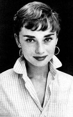 Audrey Hepburn circa 1953.