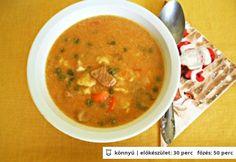 Savanyú uborkás raguleves Ethnic Recipes, Food, Eten, Meals, Diet