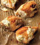 Jalapeno Popper Chicken Breasts - Rachael Ray (might be worth a try, so easy, available ingredients)
