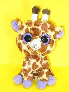 Ty Beanie Boos Stuffed Plush Beanie Giraffe Safari 6in 2010