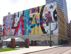 Image result for large wall murals malls