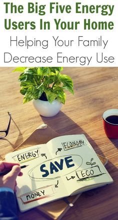 The Big Five Energy Users In Your Home: Helping Your Family Decrease Energy Use