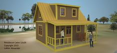 World's smallest house on wheels: Gypsy wagon - Simple Solar Homesteading Off Grid House, Off Grid Cabin, Tiny House Movement, Loft Design, Tiny House Design, A Frame Cabin Plans, Homeless Housing, Shed Builders, Cottage Plan