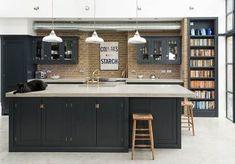 The Crystal Palace Kitchen | deVOL Kitchens Devol Shaker Kitchen, Shaker Style Kitchen Cabinets, Devol Kitchens, Shaker Style Kitchens, Kitchen Cabinet Styles, Kitchen Layout, Loft Kitchen, Open Plan Kitchen, Home Decor Kitchen