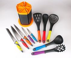 Cute And Colorful Space Saving Kitchen Gadgets