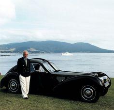Ralph Lauren and his 1938 Bugatti T57SC Atlantic