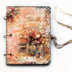 So have to do a cover like this on this years Junk Journal!!!!