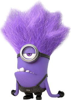 Minion & Evil Minion Despicable Me 2 Purple Minion Party, Purple Minion Costume, Purple Minions, Minion Costumes, Happy Minions, Happy Birthday Minions, Evil Minions, Minions Despicable Me, Minions Funny Images