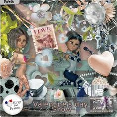Valentines day Show by Pat's Scrap