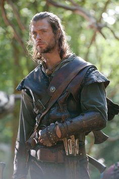 Chris Hemsworth as the Huntsman in Snow White and the Huntsman.
