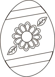 Free Printable Easter Egg Coloring Sheet