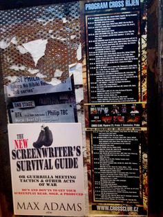 Going Banksy hits the anarchist club in Prague. #crossclubprague #TNSSG #screenwriters