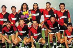 La formación de Newell's que se midió al Sao Paulo en la final de la Libertadores de 1992