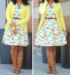 Adorable curvy fashion