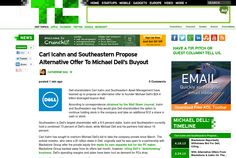 http://techcrunch.com/2013/05/09/carl-icahn-and-southeastern-propose-alternative-offer-to-michael-dells-buyout/ ... | #Indiegogo #fundraising http://igg.me/at/tn5/
