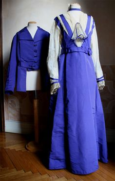 Complete two-piece (jacket and dress). 1915