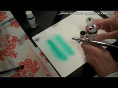 Cake Decorating Airbrush Paint : How to Airbrush Clouds on a Cookie - by Emma s Sweets ...