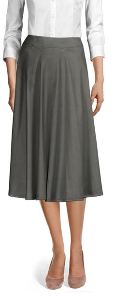 We have broken it down for you, and will help to clearly determine the difference between a Mini, Midi, and Maxi skirt. Casual Skirts, International Fashion, Suits For Women, Midi Skirt, Your Style, High Waisted Skirt, Shirt Dress, Female, Chic