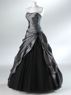 Rhinestone Sleeveless Floor-length Tulle Prom Dresses / Evening Dresses.