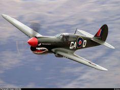 Curtiss P-40 Tigershark. Doesn't get much better.