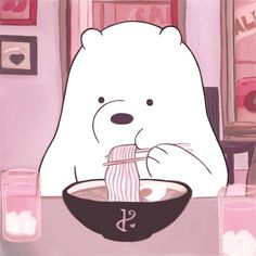 ❝ice bear❞ 𝐤𝐚𝐦𝐢𝐥𝐚♡ - we bare bears♡˳°.⋆ - - ❝ice bear❞ 𝐤𝐚𝐦𝐢𝐥𝐚♡ – we bare bears♡˳°. Cute Disney Wallpaper, Cute Cartoon Wallpapers, Animes Wallpapers, Ice Bear We Bare Bears, We Bear, Cute Profile Pictures, Cartoon Profile Pictures, Bear Cartoon, Cartoon Icons