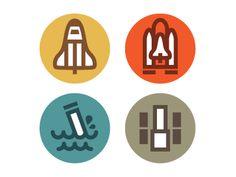 Dribbble - Orbiter Processing Icons by Eric R. Mortensen