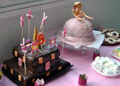 tarta princesa y tarta castillo
