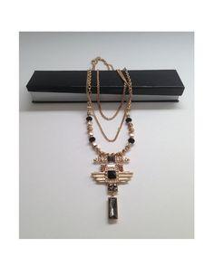 Vintage Art Deco Necklace by VintageAvantGarde on Etsy, $62.00