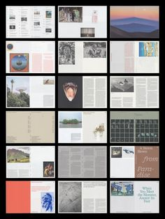 Balancing between editorial and artistic, Studio Airport flourishes at the intersection of print and film Page Layout Design, Layout Book, Book Layouts, Editorial Layout, Editorial Design, Graphic Design Books, Publication Design, Print Layout, Book Projects