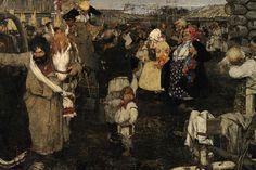 Nicolai-Fechin-Bearing-Away-the-Bride.jpg (956×640)