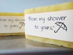 Bridal Shower Favors Custom Handmade