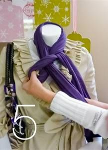 Steps to Great Scarf Tying