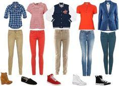 Their cloths!!