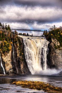 Montmorency Falls - Quebec City, Quebec