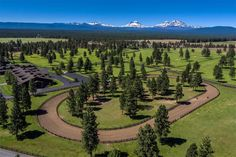 The race track at the R & B Ranch- Sisters, OR