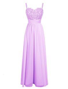 Dresstells® Long Chiffon Sweetheart Prom Dress With Appliques Bridesmaid Dress Evening Dress: Amazon.co.uk: Clothing