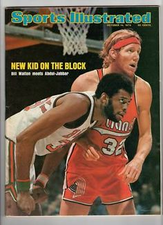 1974 Sports Illustrated Magazine Bill Walton Kareem Abdul Jabbar Milwaukee Bucks | eBay