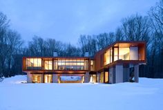 The Bridge House- Beautiful Private Residence by Joeb Moore Partners Architects