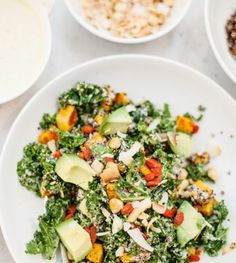 KALE, SWEET POTATO, AND HAZELNUT SALAD