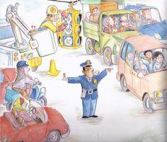 Praatplaat politie / Police